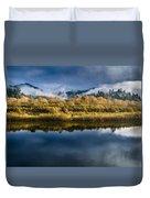 Autumn On The Klamath 7 Duvet Cover