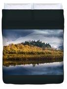 Autumn On The Klamath 9 Duvet Cover