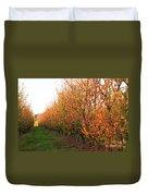 Autumn Orchard Duvet Cover