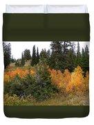 Autumn Panorama Duvet Cover