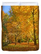 Autumn Park Duvet Cover