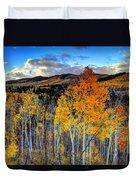 Autumn Pass Duvet Cover