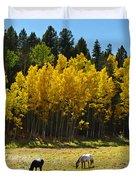 Autumn Pasture Duvet Cover