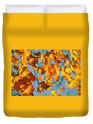 Autumn Petals Duvet Cover