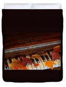 Autumn Piano 1 Duvet Cover