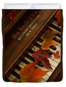 Autumn Piano 11 Duvet Cover