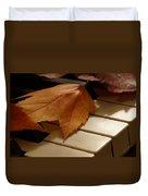 Autumn Piano 12 Duvet Cover