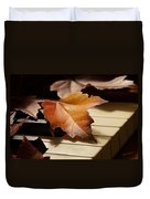 Autumn Piano 13 Duvet Cover
