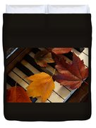 Autumn Piano 2 Duvet Cover
