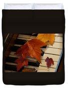 Autumn Piano 6 Duvet Cover