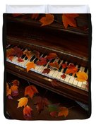 Autumn Piano 7 Duvet Cover