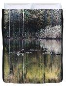 Autumn Pond Duvet Cover
