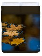 Autumn Puddle Duvet Cover