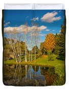 Autumn Reflecting Duvet Cover