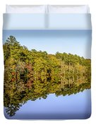 Autumn Reflection Duvet Cover