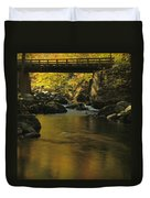 Autumn Reflections In Tennessee Duvet Cover