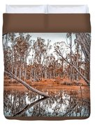 Autumn Reflections V2 Duvet Cover