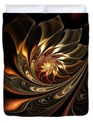 Autumn Reverie Abstract Duvet Cover