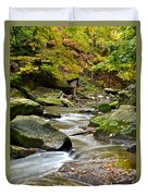 Autumn River Duvet Cover