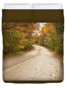 Autumn Road II Duvet Cover