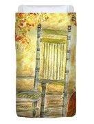 Autumn Rocks Duvet Cover