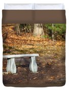 Autumn Seat Duvet Cover