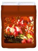 Autumn Shadows Duvet Cover