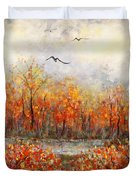 Autumn Song Duvet Cover