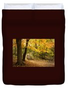 Autumn Stairs Duvet Cover