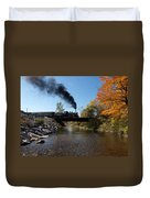 Autumn Steam Duvet Cover
