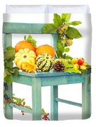 Autumn Still Life Chair Duvet Cover