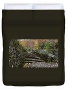 Autumn Stone Staircase Duvet Cover