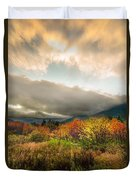 Autumn Storm Clearing Duvet Cover
