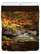 Autumn Stream Square Duvet Cover
