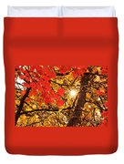 Autumn Sunrise Painterly Duvet Cover
