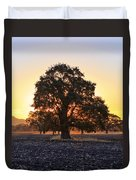 Autumn Sunrise Duvet Cover