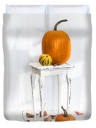 Autumn Table Duvet Cover