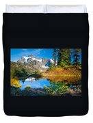Autumn Tarn Duvet Cover
