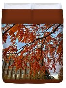 Autumn Temple Duvet Cover
