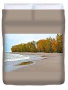 Autumn Tides Duvet Cover