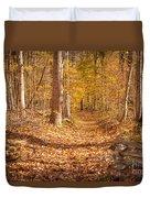 Autumn Trail Duvet Cover by Brian Jannsen