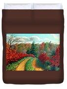 Autumn Trail Duvet Cover