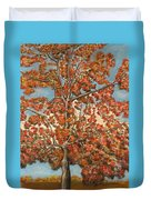 Autumn Tree Duvet Cover by Michael Anthony Edwards
