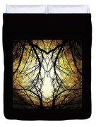 Autumn Tree Veins Duvet Cover
