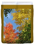 Autumn Treetops Duvet Cover
