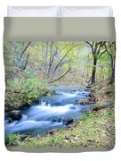 Autumn Tributary Duvet Cover