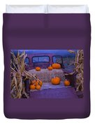 Autumn Truck Duvet Cover