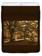 Autumn Umbrella Duvet Cover