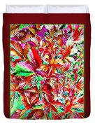Autumn Virginia Creeper Duvet Cover