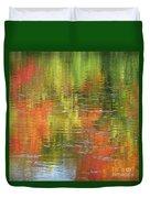 Autumn Water Colors Duvet Cover